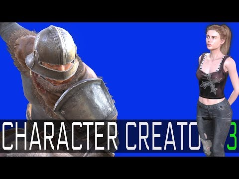 Character Creator 3 -- Easy and Powerful Game Character Crea
