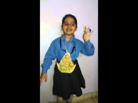hasya kavita in hindi golgappe 1st prize(self created)