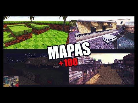 Pack De Mapas HD Para Counter Strike 1.6 2018 | 2# | +100 Mapas!