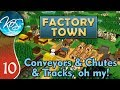 Factory Town Ep 10: FINALLY TRAINS! - (Extremely Alpha!) - Let's Play, Gameplay