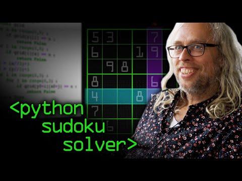Python Sudoku Solver - Computerphile