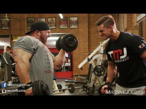 Flex Lewis Arm Workout