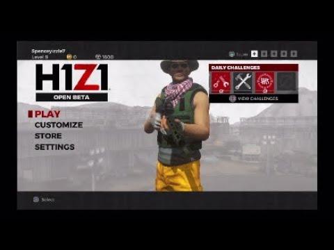 h1z1 ps4 servers down