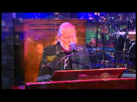 "Gregg Allman -- ""Just Another Rider"" 1 13 Letterman"