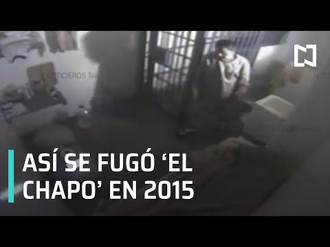 Audio y video de la fuga de El Chapo Guzmán 2015