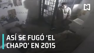 Audio y video de la fuga de El Chapo Guzmán 2015