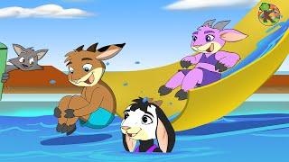 Der Wolf und die sieben Geißlein Urlaub im Kreuzfahrtschiff | KONDOSAN Märchen für Kinder | Folge 3