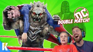DC Justice League WWE 2k19 Royal Rumble! | KIDCITY GAMING