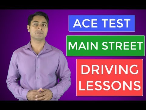 Driving Test Training Main Street Winnipeg Call 204-509-4175