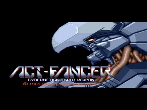 Act-Fancer Cybernetick Hyper Weapon 1989 Data East Mame Retro Arcade Games