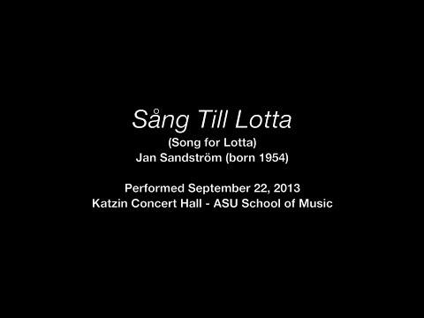 Song for Lotta - Jan Sandström - Douglas Yeo (Bass Trombone)
