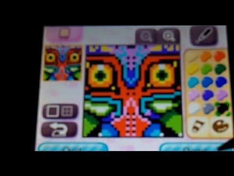 Animal Crossing New Leaf Qr Majora S Mask Zelda Youtube