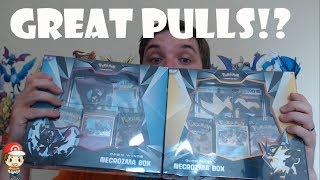 Do Pokemon Necrozma Boxes Have Great Pullz!? (New Product Opening)