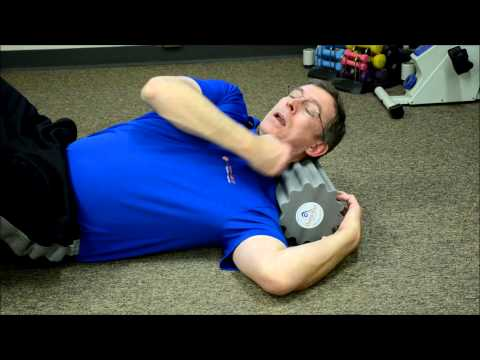 Neck release with Thera-Roll