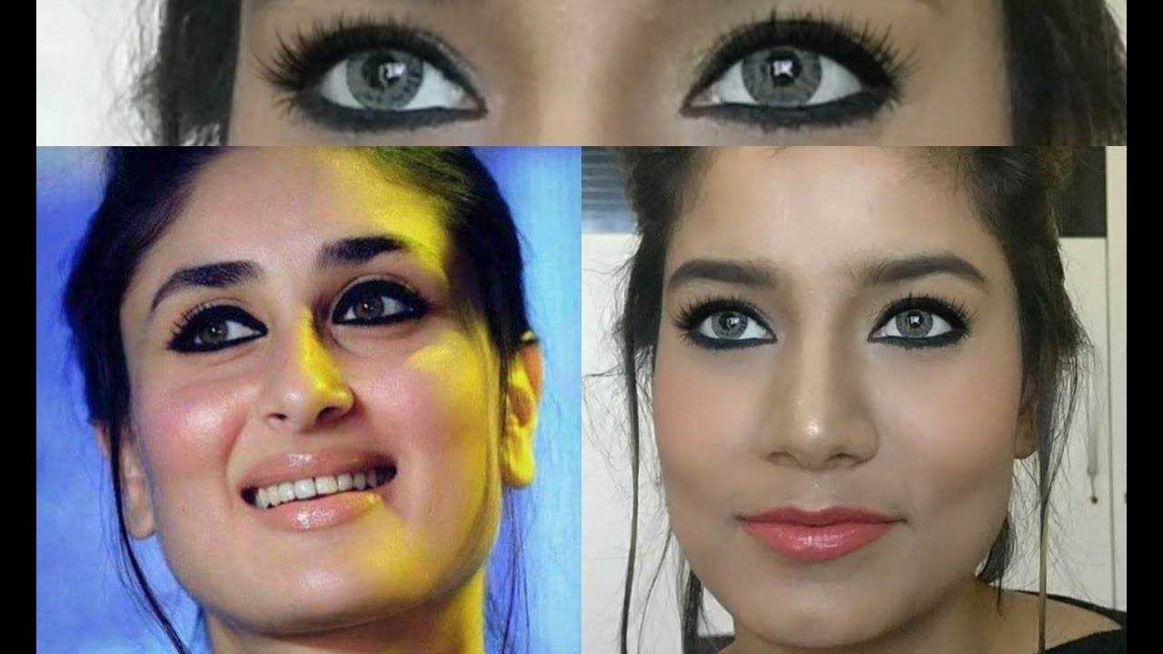 Kareena Kapoor Inspired Makeup Tutorial | Bold Eyes ...