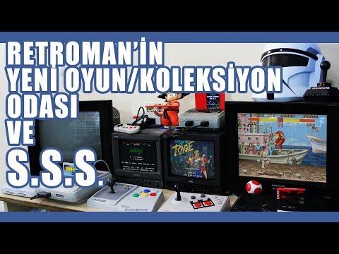 RETROMAN'in Yeni Oyun ve Koleksiyon Odası (Soru/Cevap)