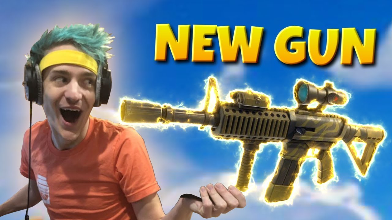 NINJA REACTS TO NEW THERMAL RIFLE | Fortnite Battle Royale