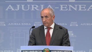 Euskadi no convocará elecciones mientras haya emergencia sanitaria