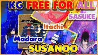 [073] NEW KG/KEKKEI GENKAI FFA|SUSANOO FREE FOR ALL!|ROBLOX NRPG- Beyond