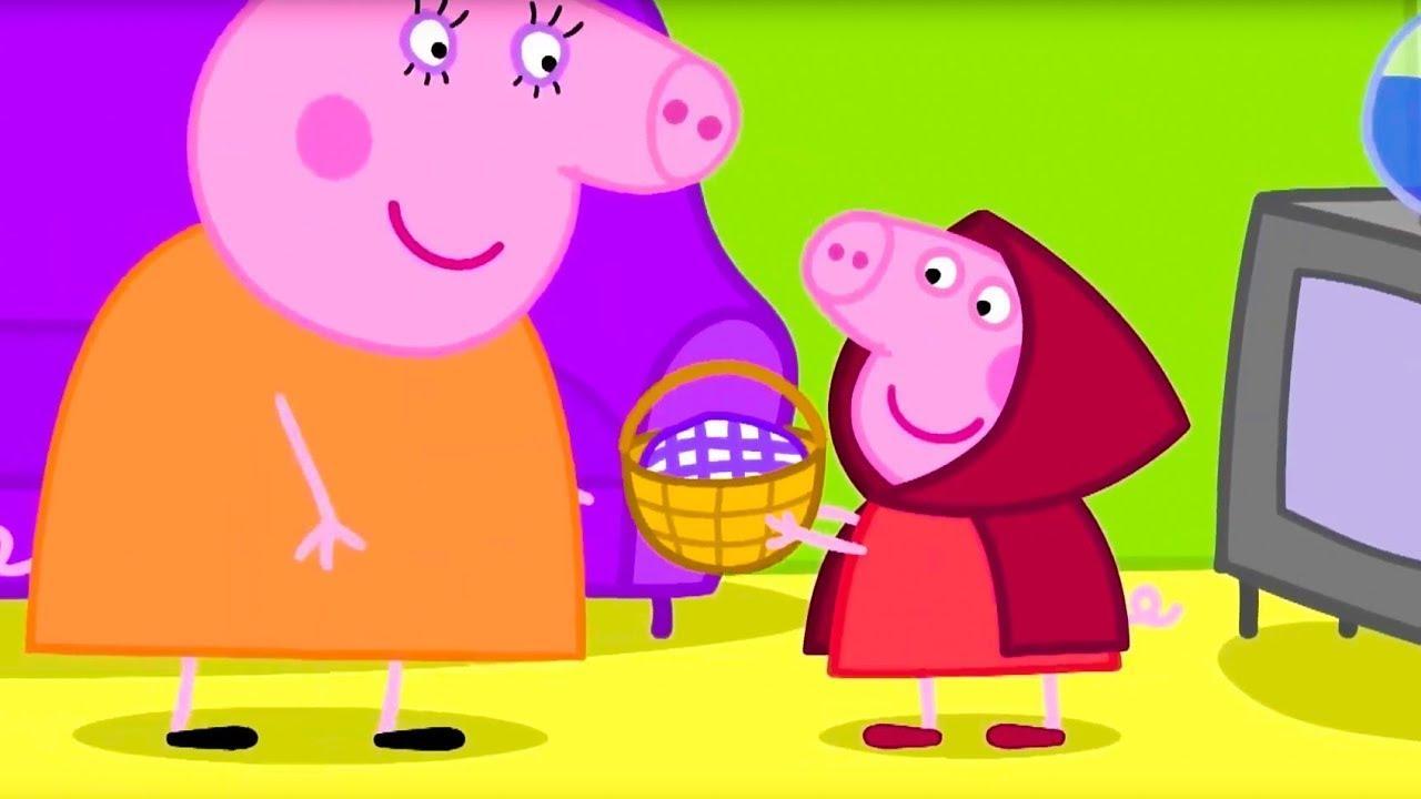 Свинка Пеппа на русском все серии подряд   Пеппа играет в театре   Мультики