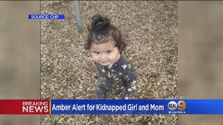 AMBER Alert Issued For 1-Year-Old Girl Abducted From Porterville: CHP