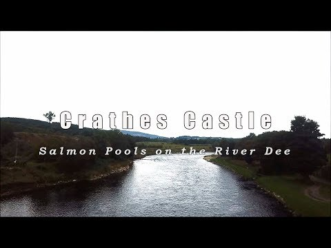 Crathes Castle On The Dee - The Pools And A 13lb Salmon