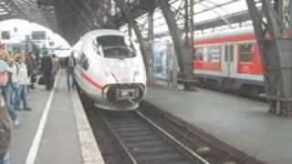 ICE 3 High speed train Coupling Procedure Railroad Railway