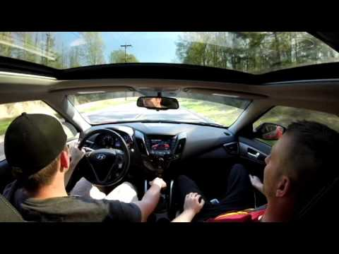 Taking a veloster Nav owner for a ride in a turbo