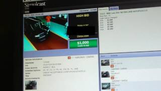 Buying car online at auction