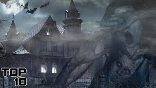 Top 10 Scary Places You Should Not Go On Halloween | YOU HAVE BEEN WARNED