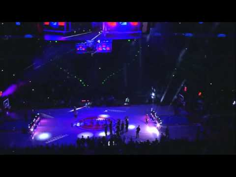 Detroit Pistons 2014 2015 Regular Season Game Opening