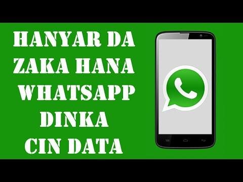 Whatsapp:/ Yanda zaka ragewa whatsapp dinka cin data