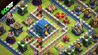 TH12 Trophy Base | Best CoC TH12 Anti 2 Star Base 2018 |Champion to Legend League  - Clash Of Clans