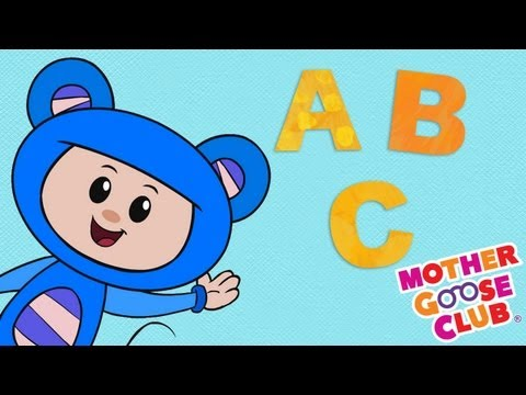 ABC Song With Eep the Mouse  Mother Goose Club Ba s