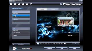 CyberLink PowerProducer 5 - Tutorial Part 1 - Creating a Photo Slideshow Disc