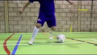 Learn the football/soccer step over