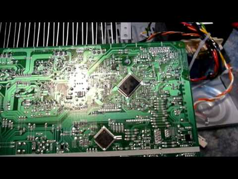 kitchen table electronics repair sony str dh100 stereo receiver rh youtube com Sony STR Dh100 Protect Mode sony str-dh100 2-channel audio receiver manual