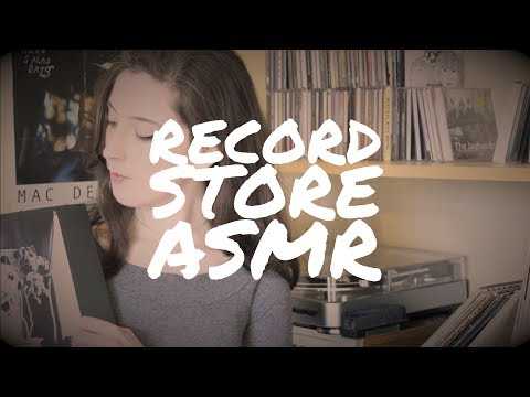 ASMR | Record Store Roleplay (with Layered Sounds!)