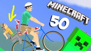 ТЫ НЕ ПРОЙДЁШЬ!!! - Happy Wheels 50 (Карты Minecraft)