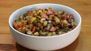 How to Make Hash Browns  Easy Country Fried Potato Recipe