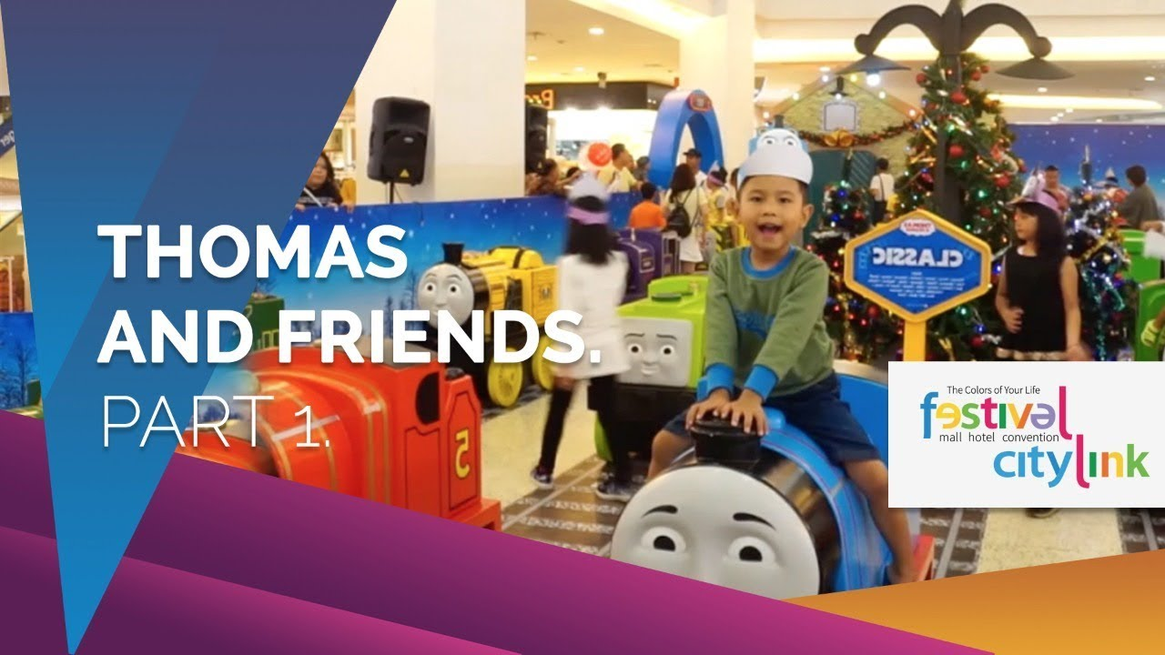 THOMAS AND FRIENDS FESTIVAL CITYLINK, MINI & MIGHTY, HOLIDAY ADVENTURE 2017