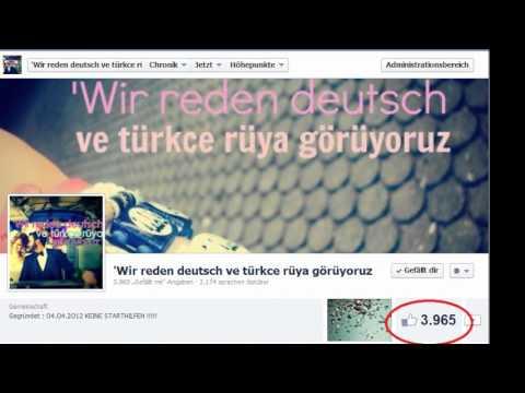 'Wir reden deutsch ve türkce rüya görüyoruz - FACEBOOK