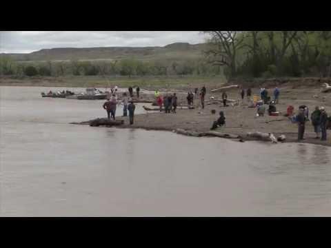 Paddle Fishing Intake Montana 2014
