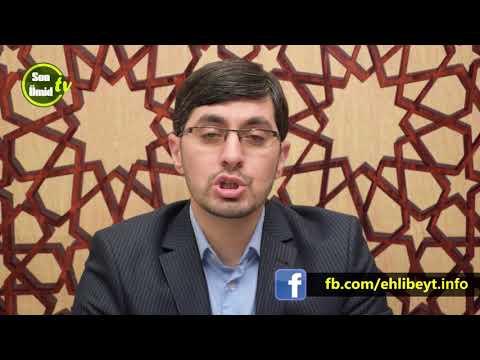 Hacı İlkin Quran elmləri 11 -ci dərs