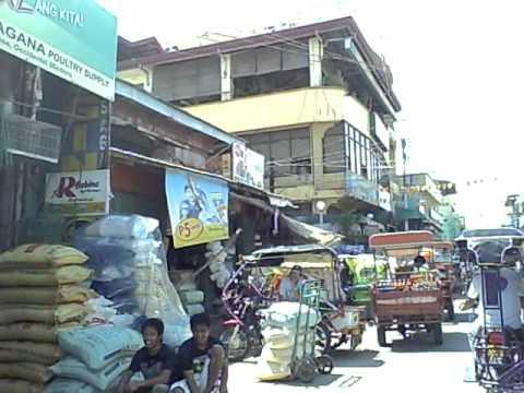 Public market of  San Jose Occidental Mindoro Philippines