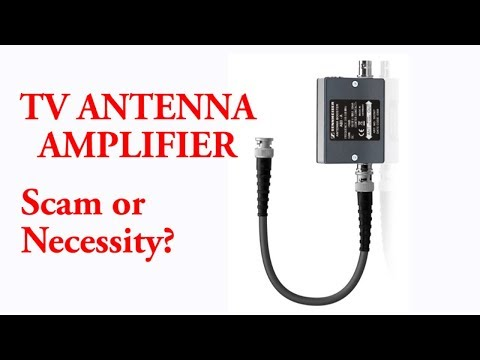 TV Antenna Amplifier   Scam Or Necessity? - YouTube