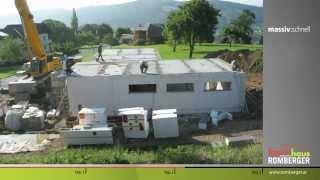Возведение панельного дома за 3 дня из легкого бетона.(В качестве наполнителя легкого бетона применяется экологически безопасный, долговечный и негорючий матер..., 2015-06-10T18:20:14.000Z)
