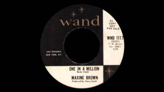 Maxine Brown - One In A Million