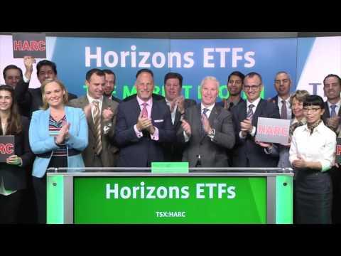 Horizons ETFs opens Toronto Stock Exchange, January 17, 2016