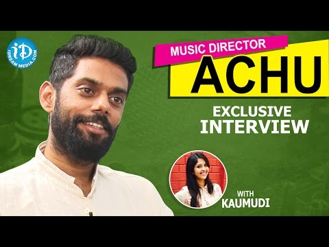 Music Director Achu Rajamani Exclusive Interview || Talking Movies with iDream #215